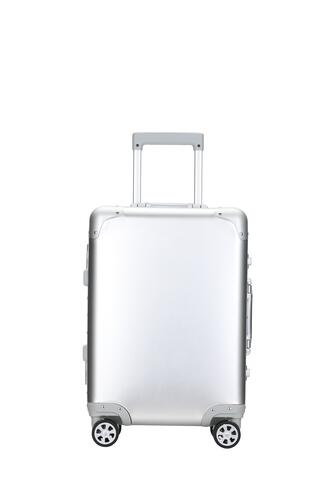 NORQ - SMOOTH SILVER - REJSEKUFFERT 72L